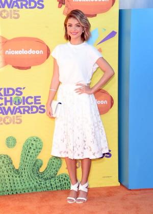 Sarah Hyland: 2015 Nickelodeon Kids Choice Awards -12