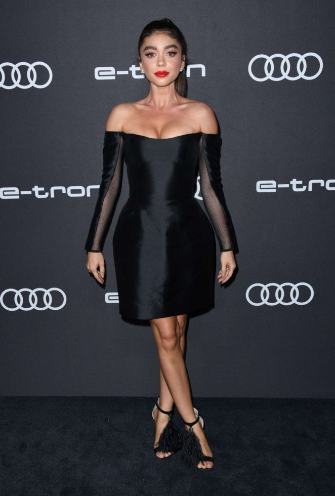 Sarah Hyland – Audi Celebrates The 70th Emmys in West Hollywood