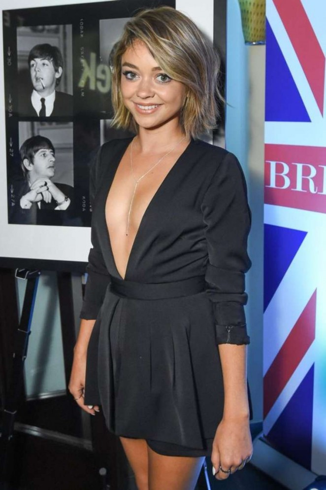 Sarah Hyland -  British Subjects Rock Photography Exhibition in LA