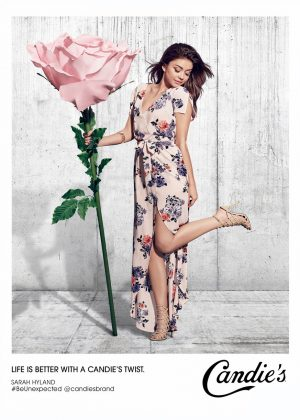Sarah Hyland - Candie's Spring Collection 2018
