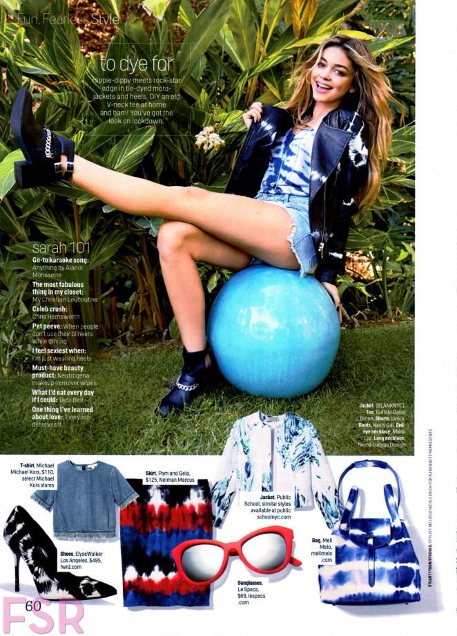 Sarah Hyland - Cosmopolitan Magazine (March 2015)