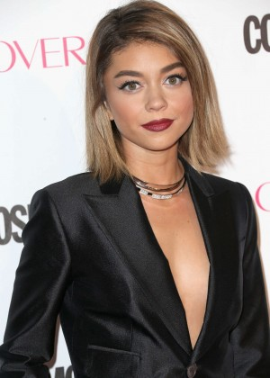 Sarah Hyland - Cosmopolitan's 50th Birthday Celebration in West Hollywood