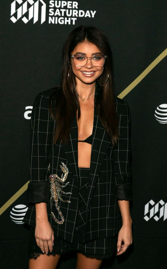 Sarah Hyland – DIRECTV Super Saturday Night 2019 in Atlanta