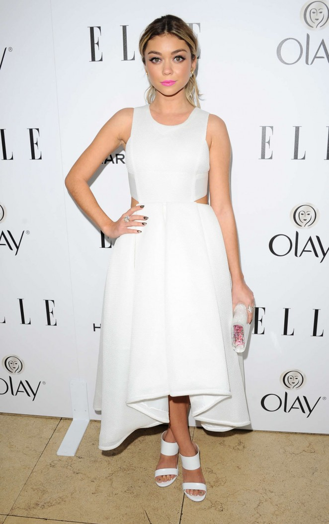 Sarah Hyland - ELLE's Annual Women in Television Celebration 2015