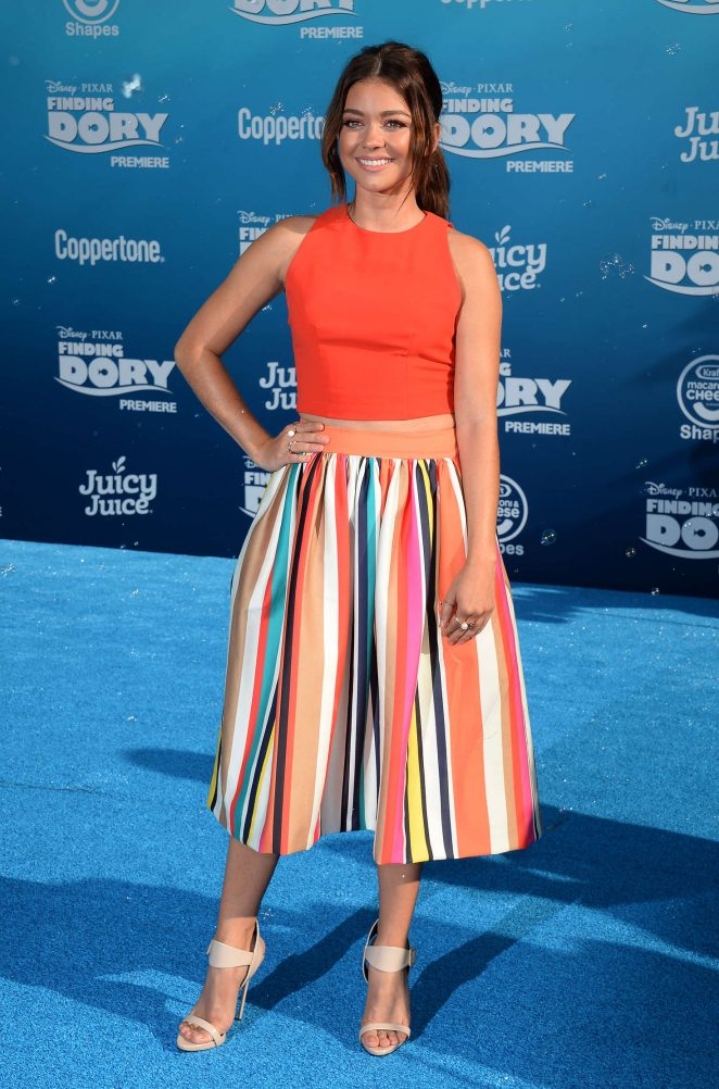 Sarah Hyland - 'Finding Dory' Premiere in Hollywood