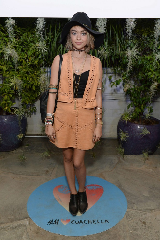 Sarah Hyland - H&M Loves Coachella Party in Palm Springs