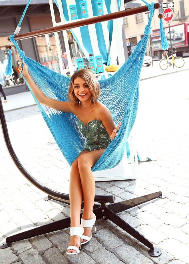 Sarah Hyland - Hawaiian Tropic Escape Event in NY