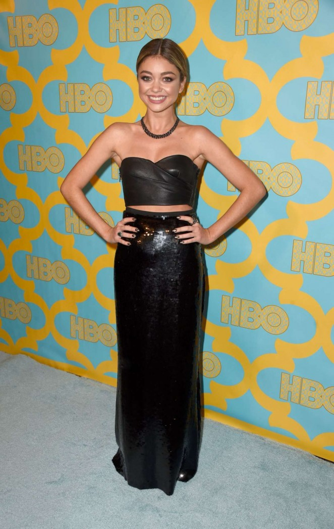 Sarah Hyland - HBO Golden Globes 2015 Party