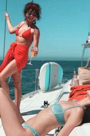 Sarah Hyland in Red Bikini - Personal Pics