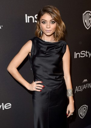 Sarah Hyland - InStyle and Warner Bros 2016 Golden Globe Awards Post-Party in Beverly Hills