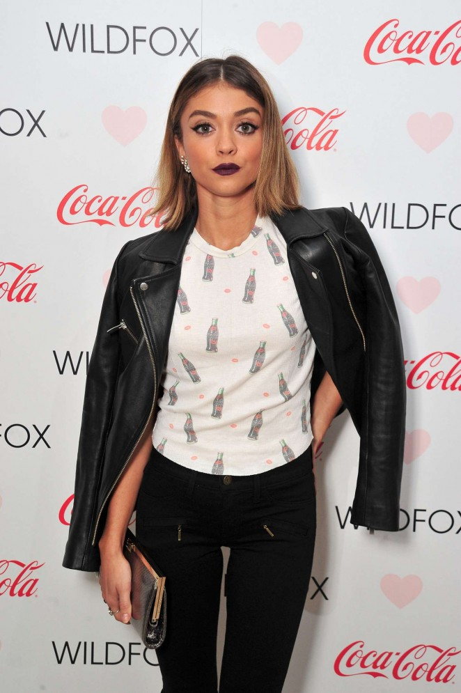Sarah Hyland - Launch Party for WILDFOX Loves Coca-Cola Capsule Collection in West Hollywood
