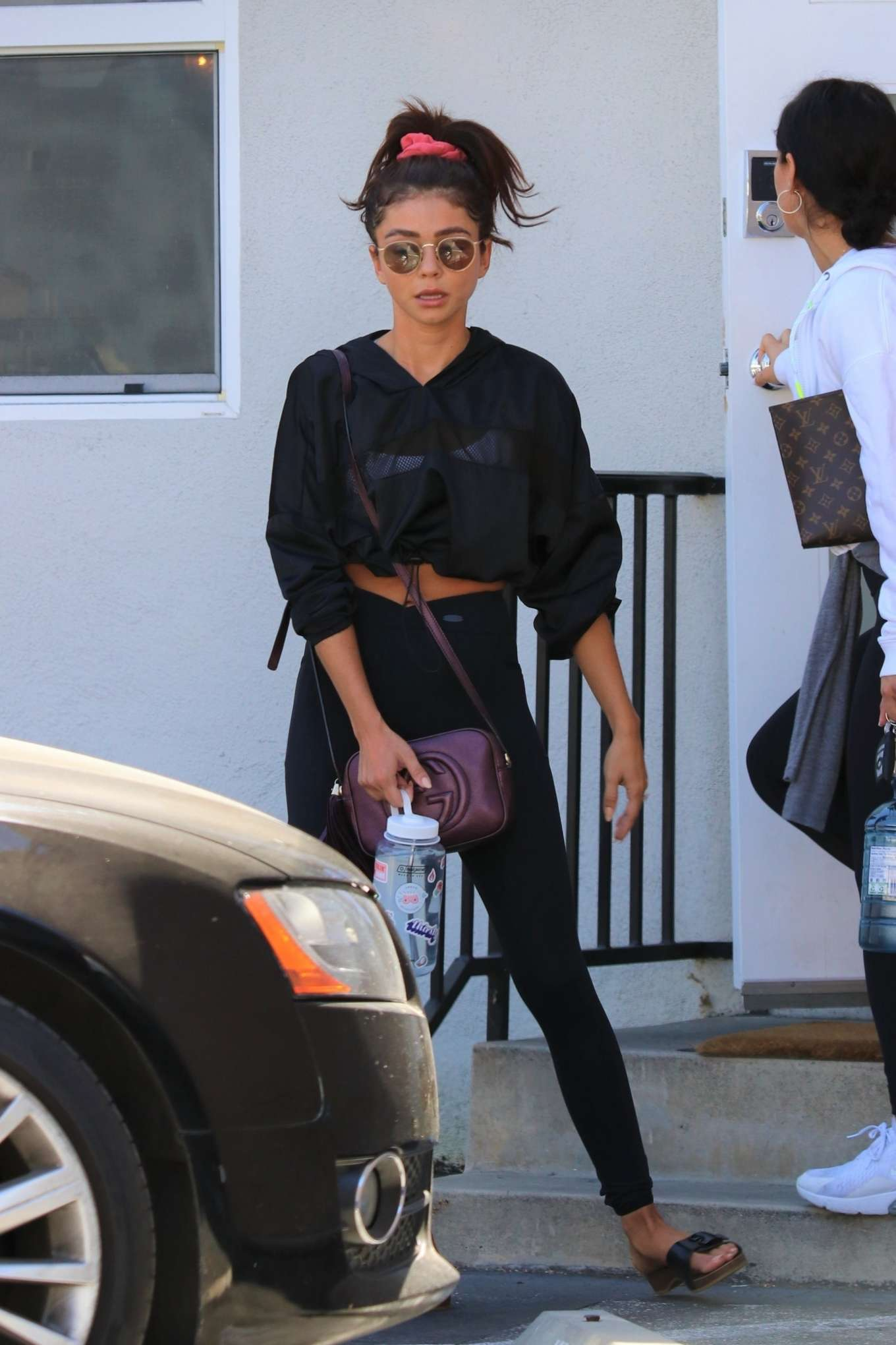 Sarah Hyland - Leaves her pilates session in Los Angeles