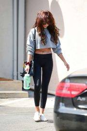Sarah Hyland - Leaving the gym in Studio City