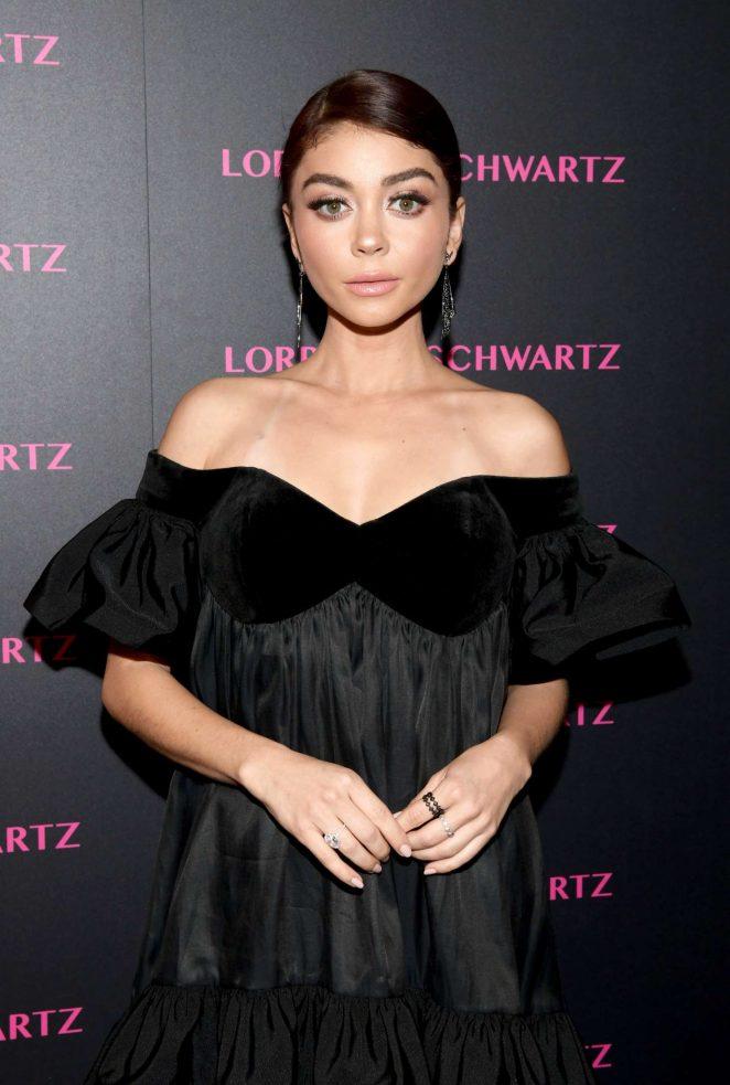 Sarah Hyland - Lorraine Schwartz Eye Bangles Collection Launch in West Hollywood