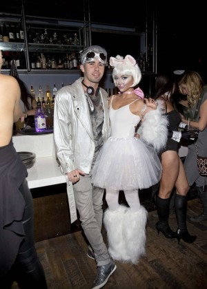 Sarah Hyland - Matthew Morrison's 6th Annual Halloween Masquerade Ball in LA