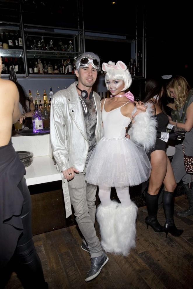Sarah Hyland – Matthew Morrison's 6th Annual Halloween Masquerade Ball in LA