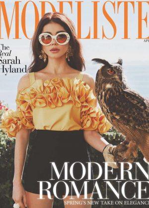 Sarah Hyland - Modeliste Cover Magazine (April 2018)