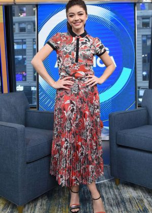 Sarah Hyland on Good Morning America in NYC
