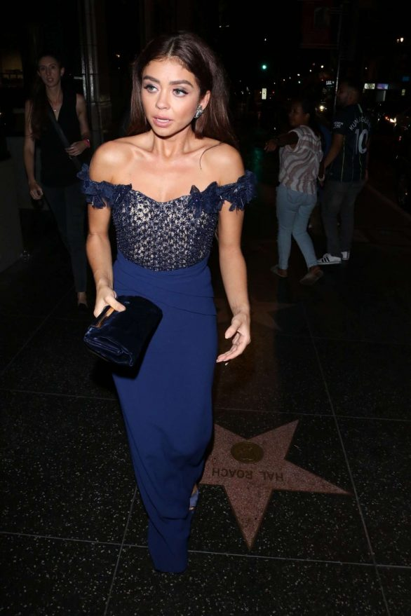 Sarah Hyland - Outside the Afterparty of her new movie 'The Wedding Year' in LA