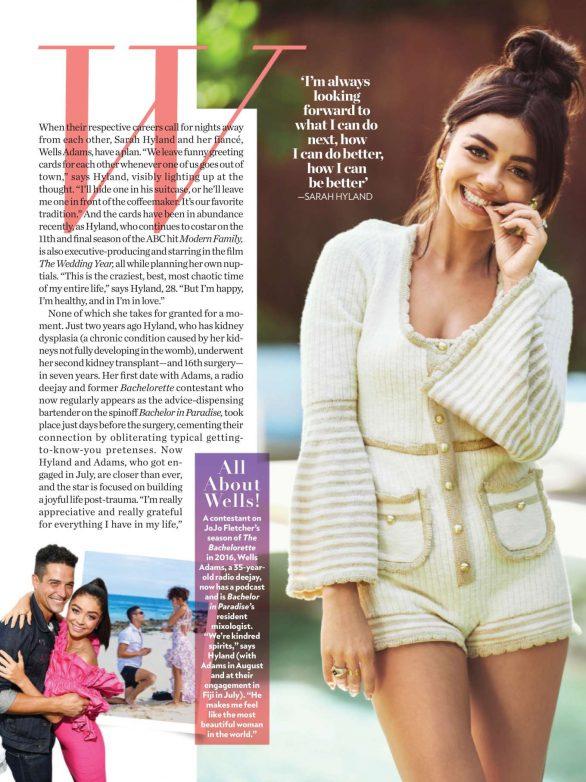 Sarah Hyland - People US Magazine (September 2019)