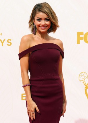 Sarah Hyland - 2015 Primetime Emmy Awards in LA