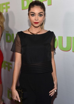 "Sarah Hyland - ""The Duff"" Premiere in Los Angeles"