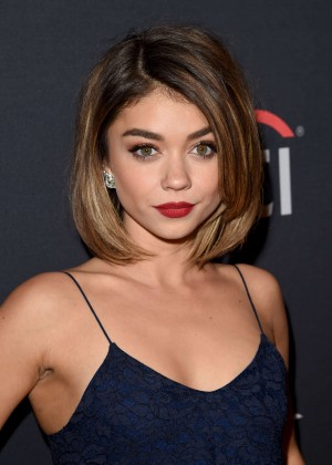 Sarah Hyland - The Grove Christmas with Seth MacFarlane in LA