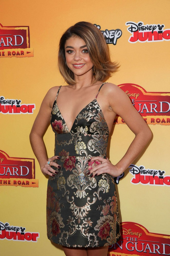 Sarah Hyland - 'The Lion Guard: Return Of The Roar' Premiere in Burbank