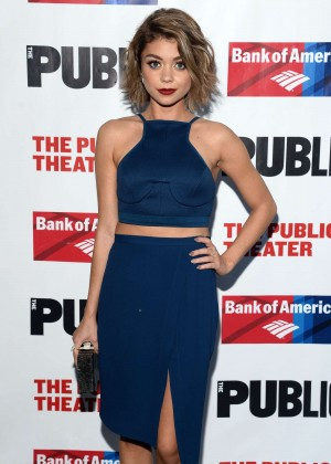 Sarah Hyland - The Public Theater's Opening Night Of The Tempest in NY