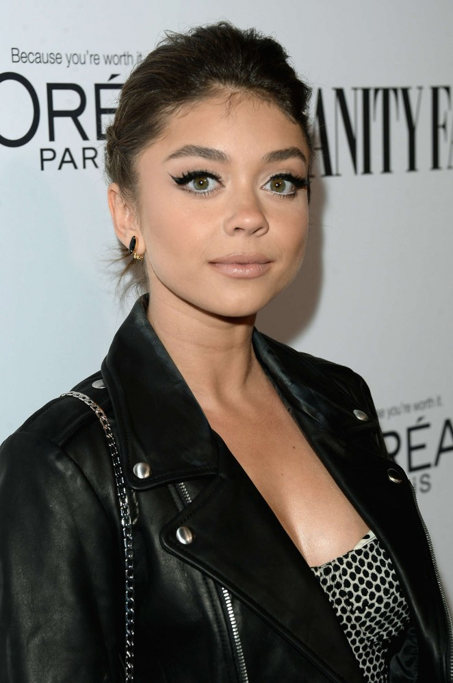 Sarah Hyland - Vanity Fair L'Oreal Paris and Hailee Steinfeld host DJ Night in West Hollywood