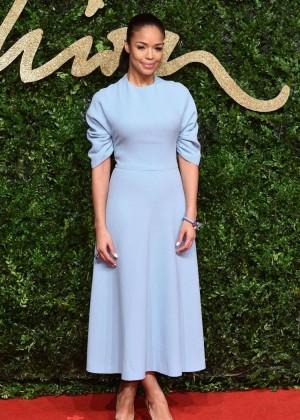 Sarah-Jane Crawford - British Fashion Awards 2015 in London