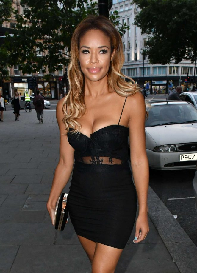 Sarah-Jane Crawford - LOTD Launch Party in London