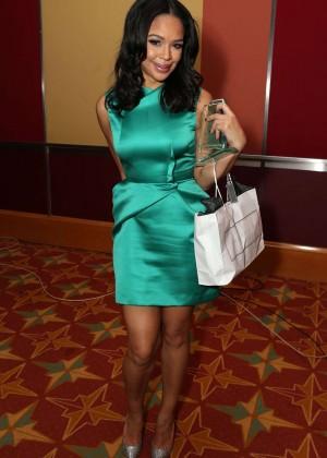Sarah-Jane Crawford: Screen Nation TV Awards 2015 -01