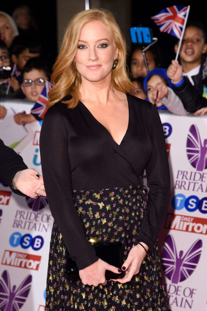 Sarah-Jane Mee - 2017 Pride Of Britain Awards in London