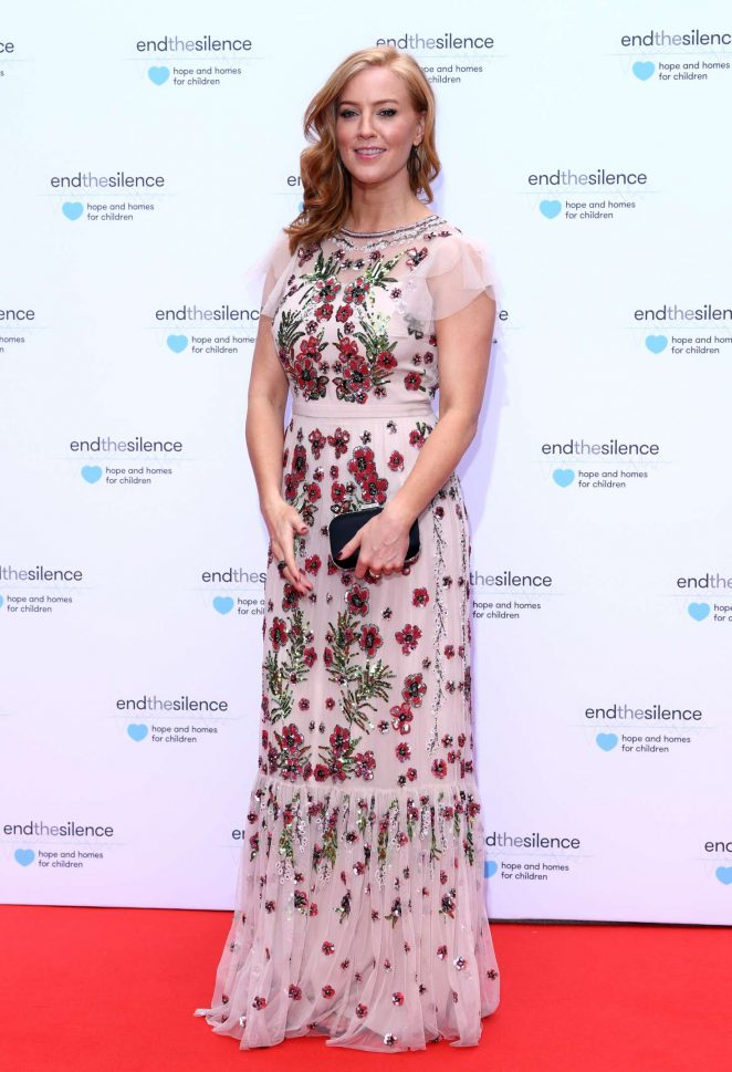 Sarah-Jane Mee - End the Silence Charity Fundraiser in London