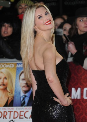 Sarah Jayne Dunn Quot Mortdecai Quot Premiere In London