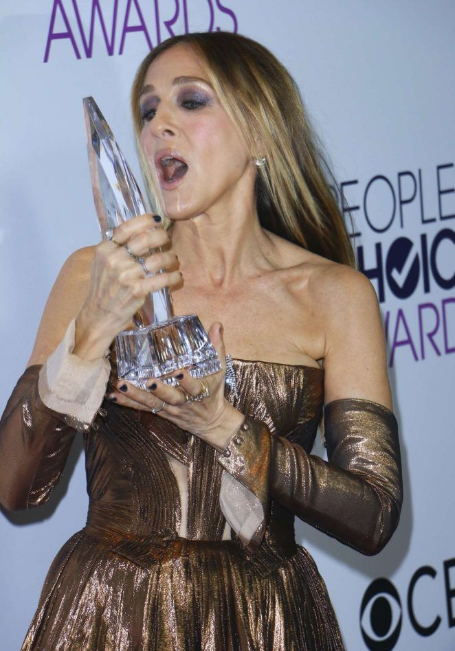Sarah Jessica Parker - 2017 People's Choice Awards in Los ...
