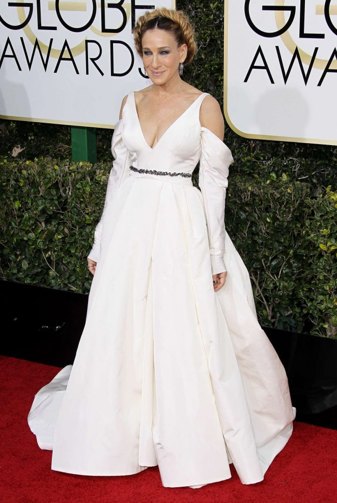 Sarah Jessica Parker – 74th Annual Golden Globe Awards in Beverly Hills