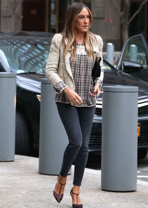 Sarah Jessica Parker in Tight jeans at the Tribeca Film Festival in NY