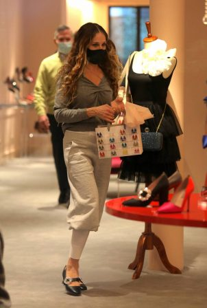 Sarah Jessica Parker -  at the SJP By Sarah Jessica Parker store in Manhattan