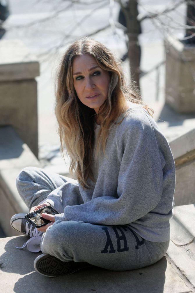 Sarah Jessica Parker – Filming 'Divorce' Season 3 in NY