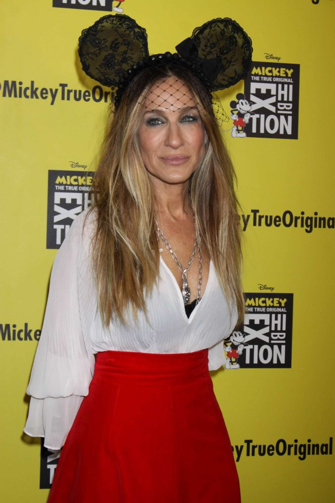 Sarah Jessica Parker – Grand Opening of 'Mickey: The True Original Exhibition' in NY