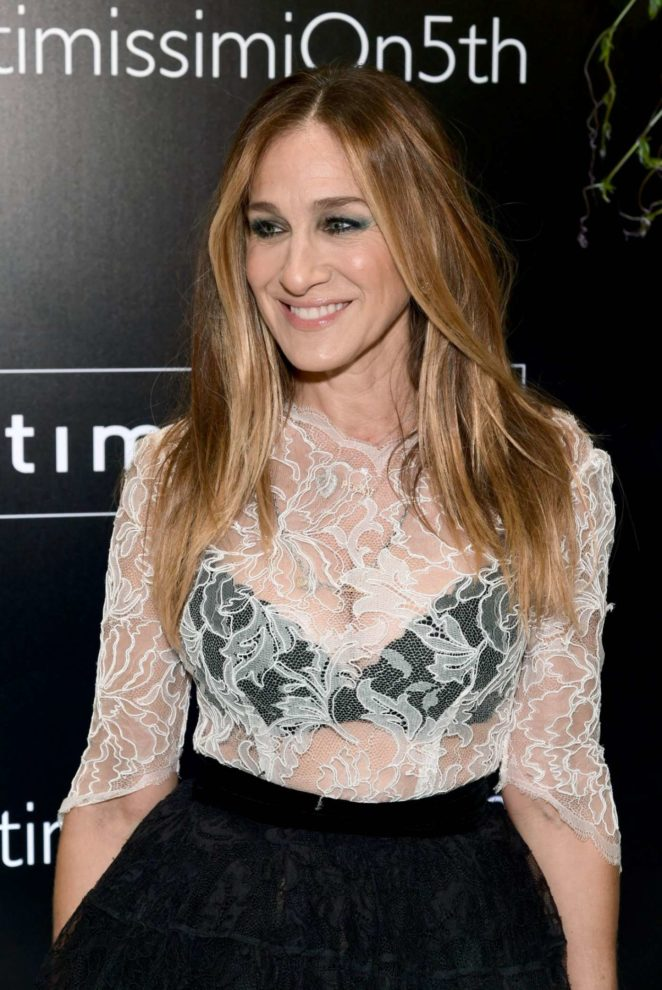 Sarah Jessica Parker - Intimissimi Flagship Boutique Opening in New York