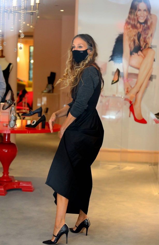 Sarah Jessica Parker - Pictured at the SJP By Sarah Jessica Parker store in Midtown