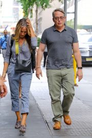 Sarah Jessica Parker - Spotted heading into The Town Hall in New York