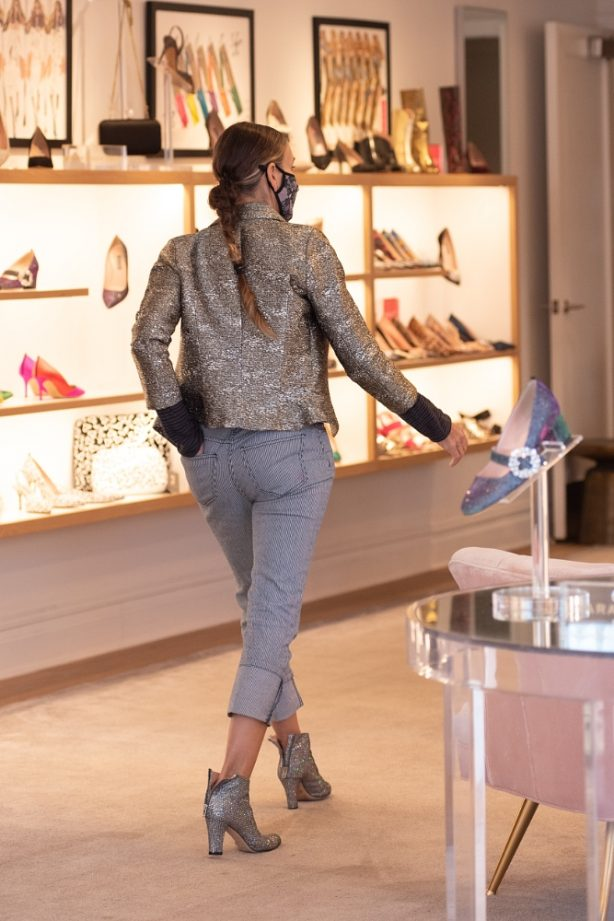 Sarah Jessica Parker - Visits SJP Collection Shoe Store in New York