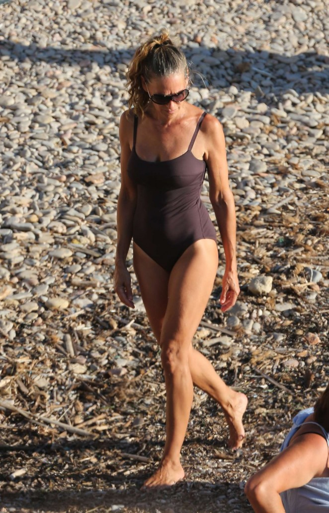Sarah Jessica Parker in a Swimsuit in Ibiza