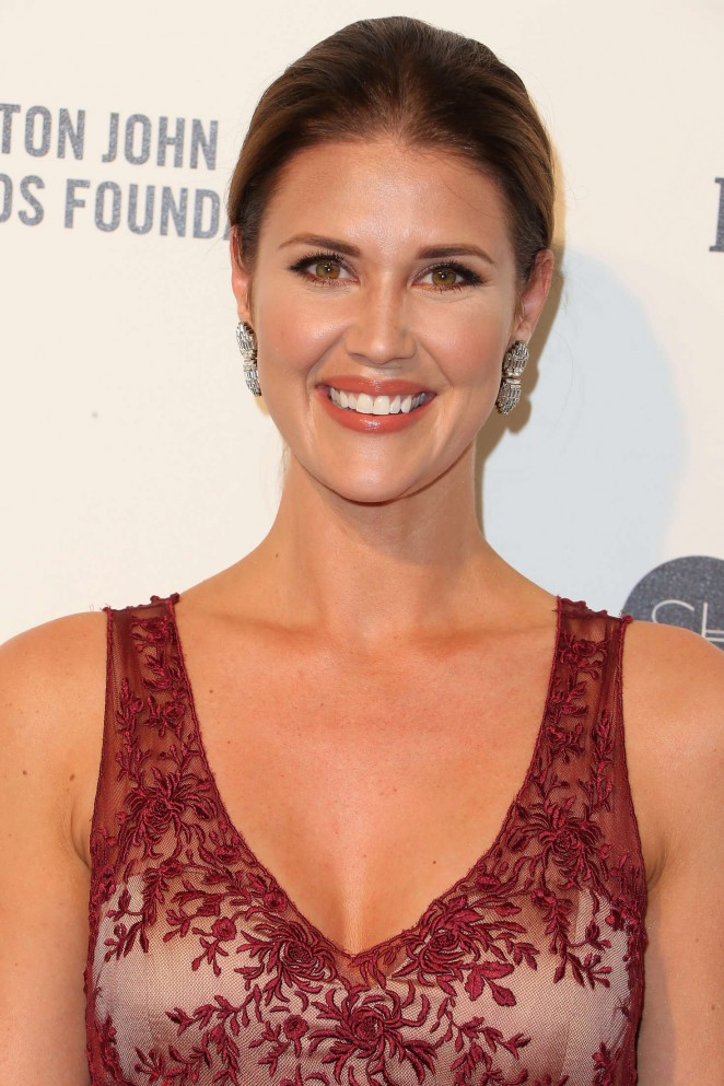 Sarah Lancaster - 2016 Elton John AIDS Foundation's Oscar Viewing Party in West Hollywood