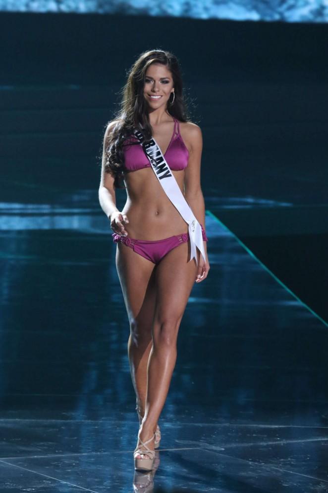 Sarah-Lorraine Riek - Miss Universe 2015 Preliminary Round in Las Vegas