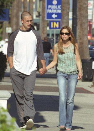 Sarah Michelle Gellar and Freddie Prinze Jr out in Hollywood